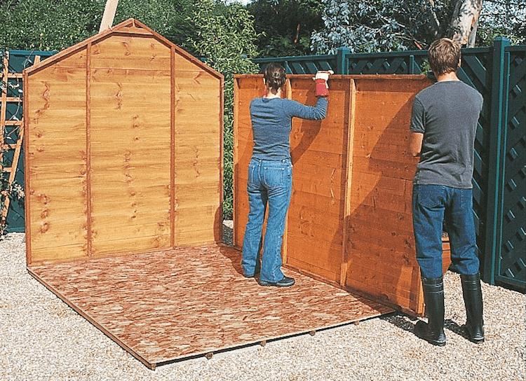 Comment fabriquer un abri de jardin en bois1