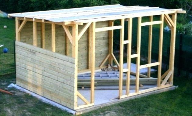 Comment fabriquer un abri de jardin en bois3