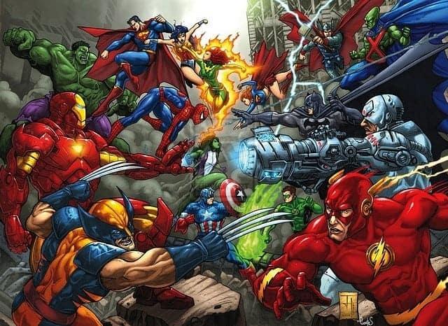 Infographie – L'espérance de vie des super-héros