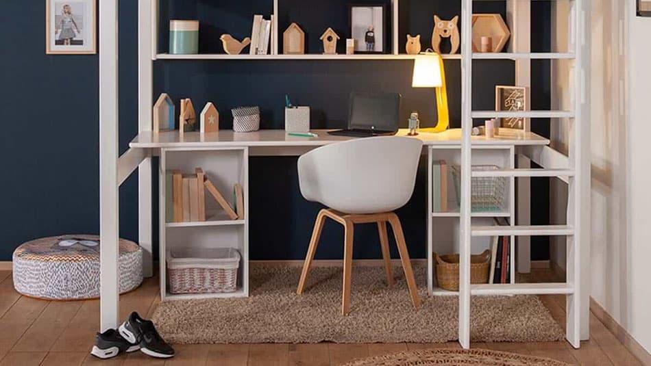 aménager une chambre d'enfant façon studio