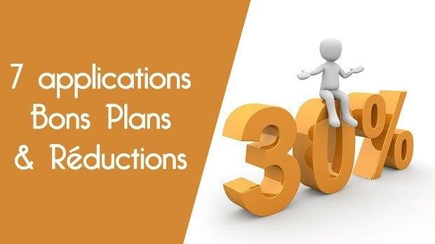 7 applications pour trouver réductions et bons plans