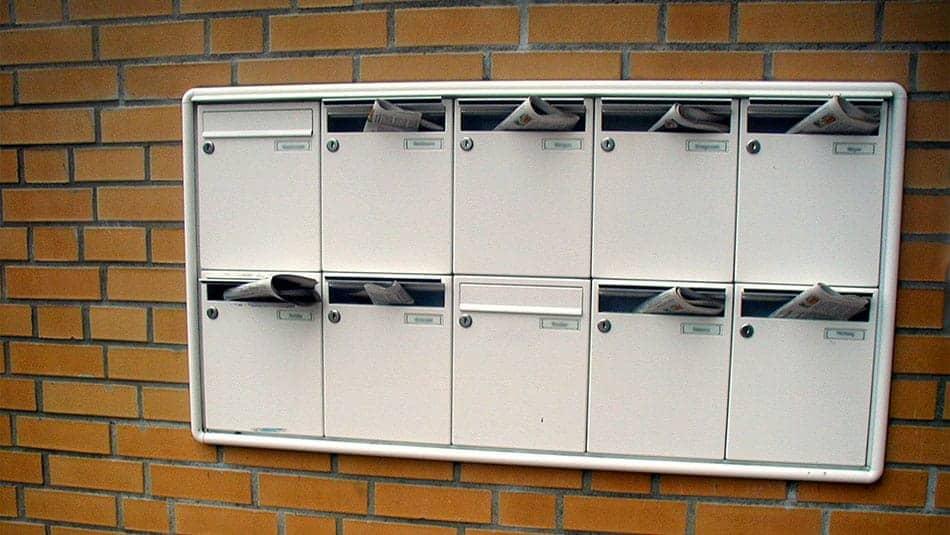 Boite aux lettres agréées PTT