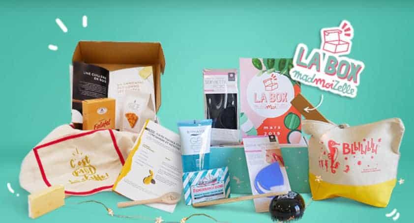 box à offrir - La box Madmoizelle