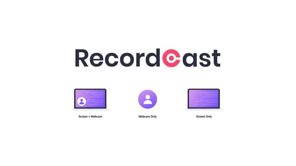 Faire une capture vidéo avec RecordCast