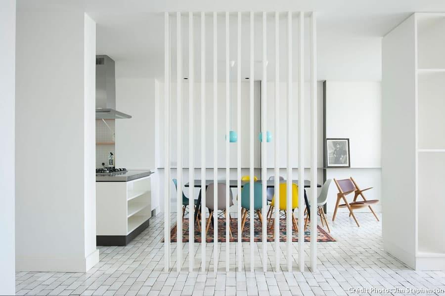 Séparer une pièce en deux avec une claustra
