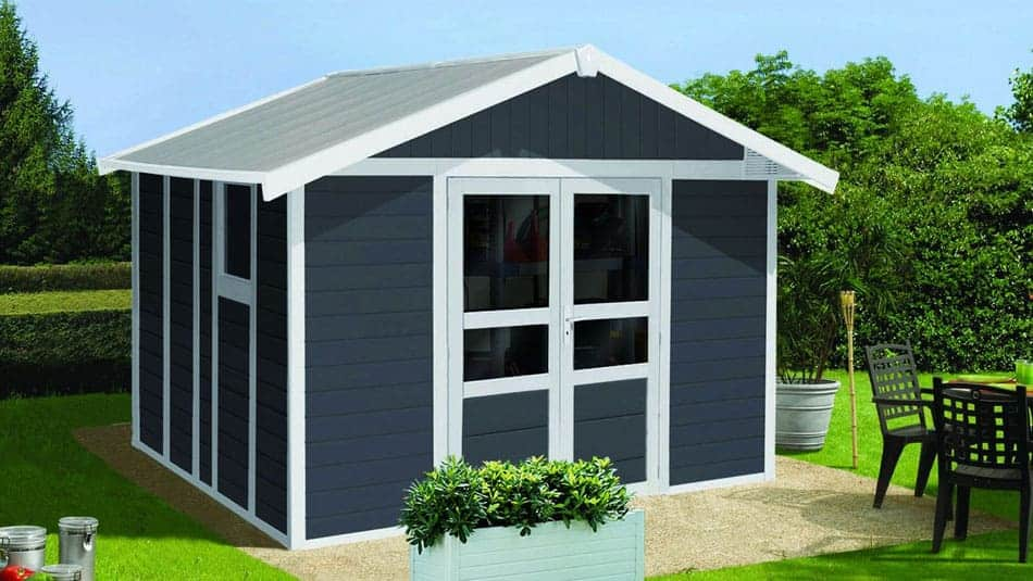 abri de jardin en bois les tapes suivre pour en fabriquer. Black Bedroom Furniture Sets. Home Design Ideas