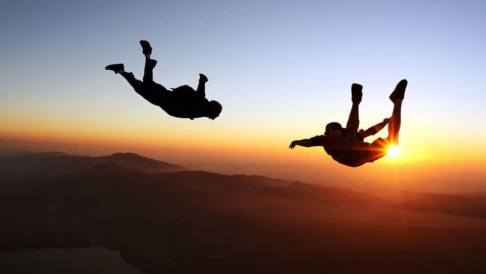 bapteme en tandem de parachute
