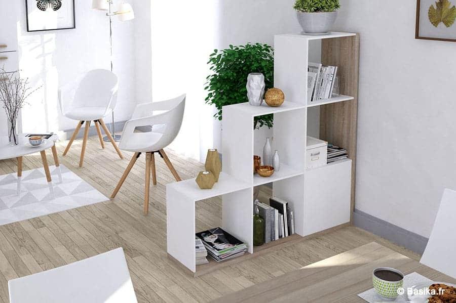 Couper une pièce en deux avec un meuble