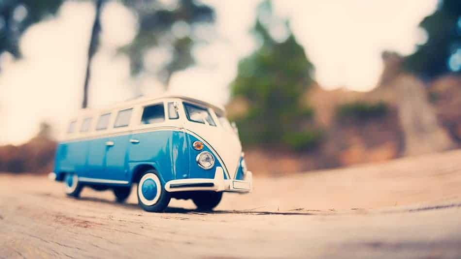 collection de véhicules miniatures