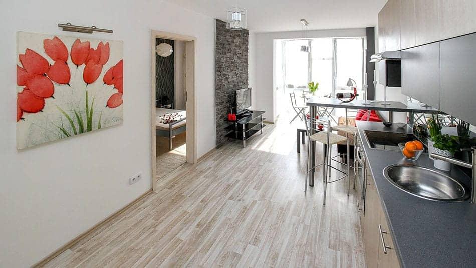 Décoration intérieure pour une location Airbnb