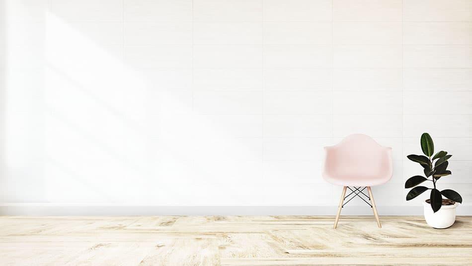 décorer les murs d'une maison