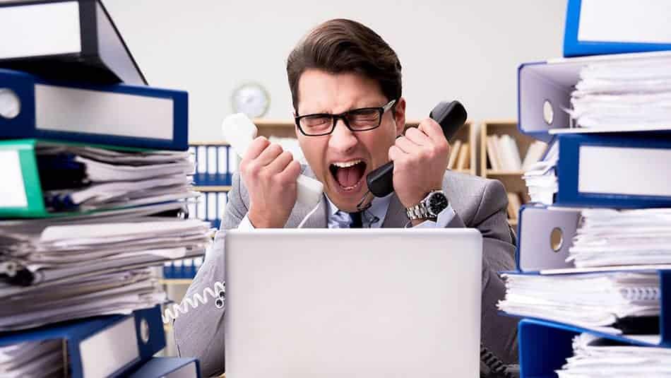 évacuer le stress du travail