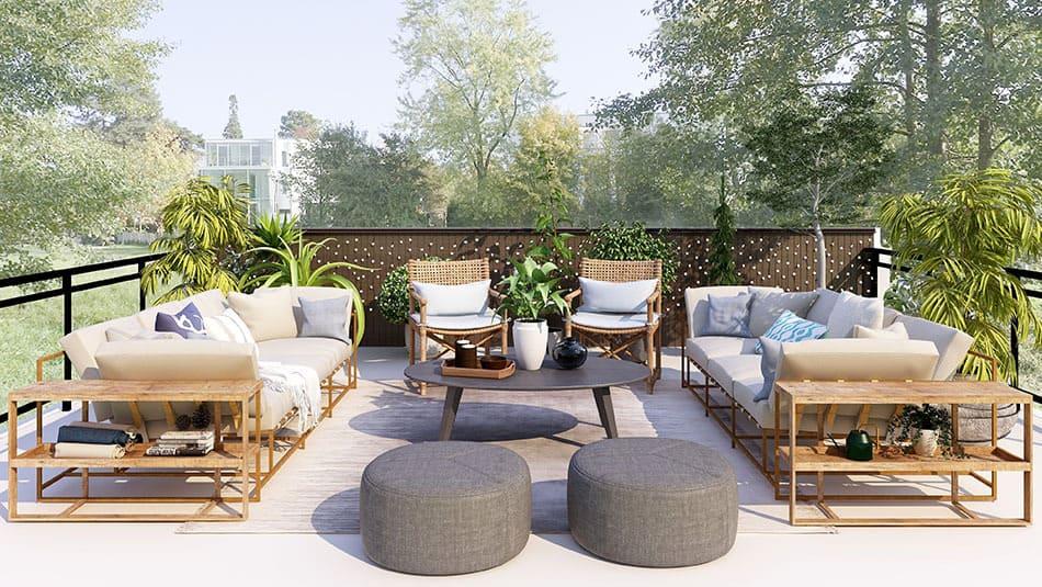 Faire une terrasse enbéton