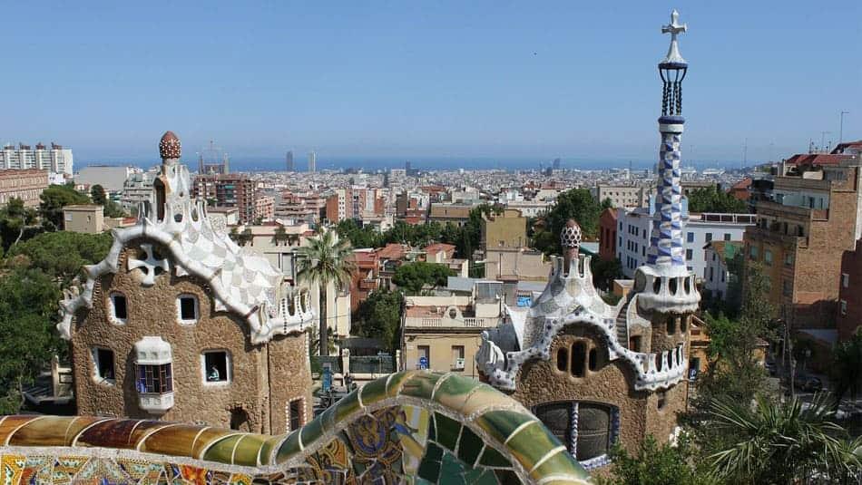 Gaudi - architecture Barcelone