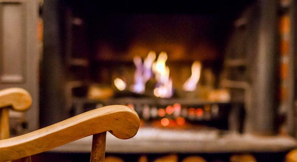 Grille foyère de cheminée