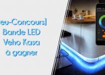 Gagnez une bande LED Veho Kasa pour illuminer votre intérieur