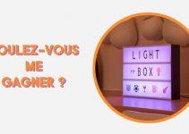 Gagnez un panneau LED avec couleurs changeantes et Emojis