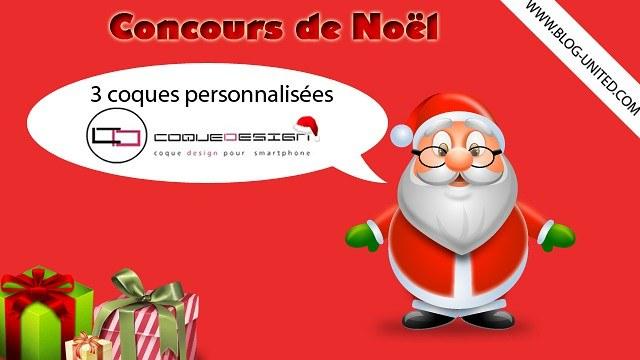 Concours de Noël – Gagne une coque personnalisée pour mobile ou tablette