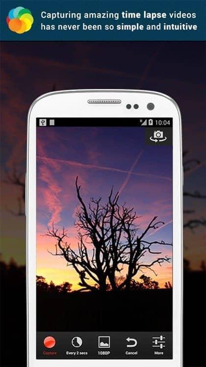 comment faire un time lapse avec un smartphone android