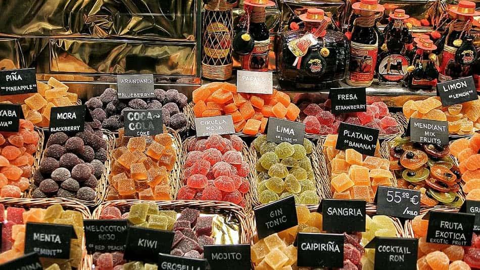 Marché de la ville de Barcelone
