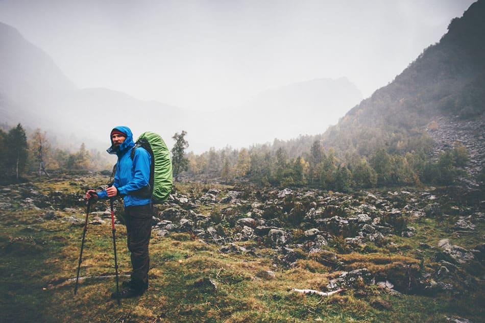 randonnée équipement pluie