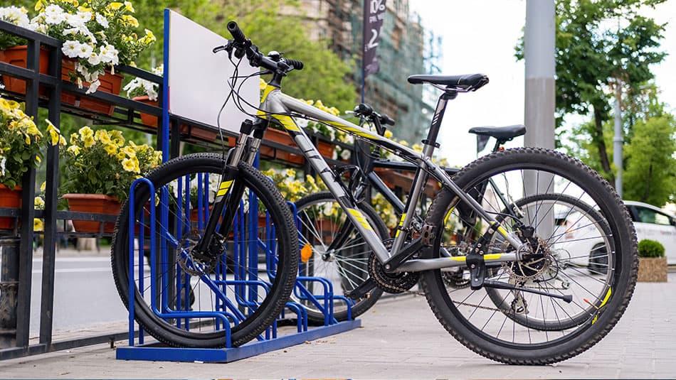 Mobilier urbain pour vélos
