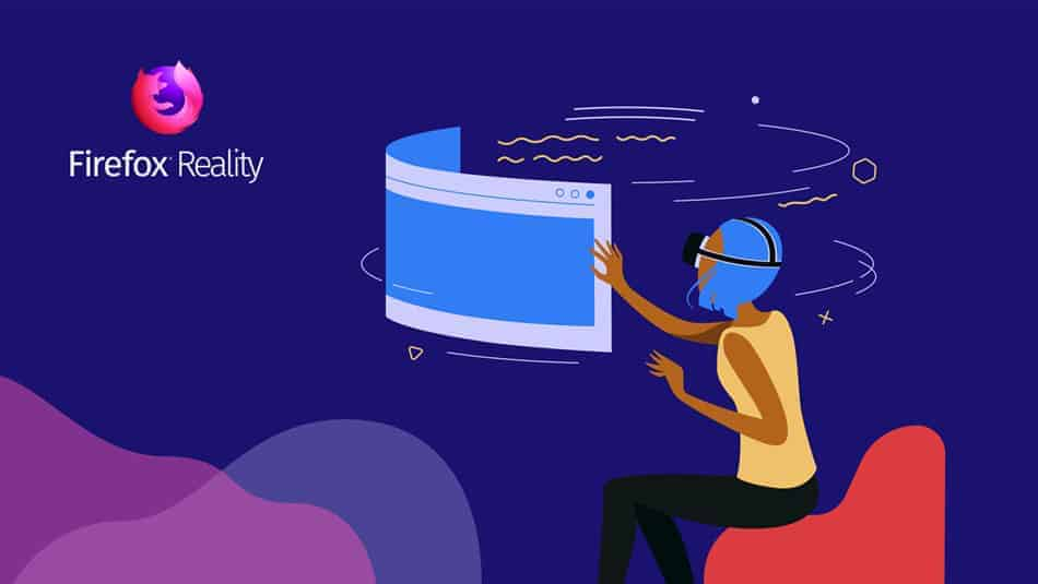 Mozilla Firefox Reality - Navigateur web pour réalité augmentée
