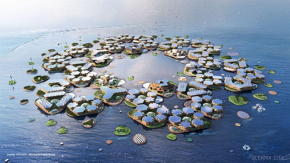 Oceanix, projet de ville flottante