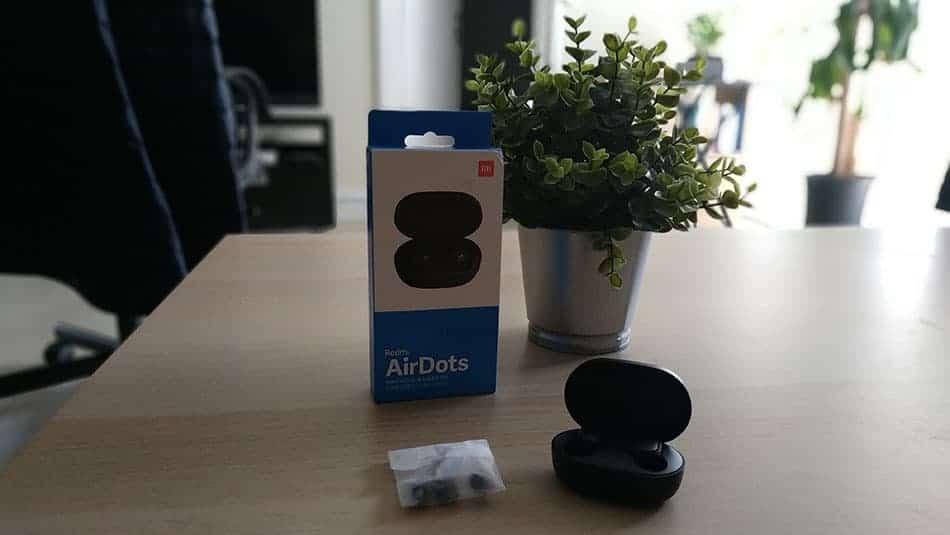 Packaging Xiaomi Mi AirDots