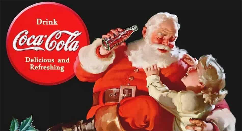 Père Noël Coca Cola