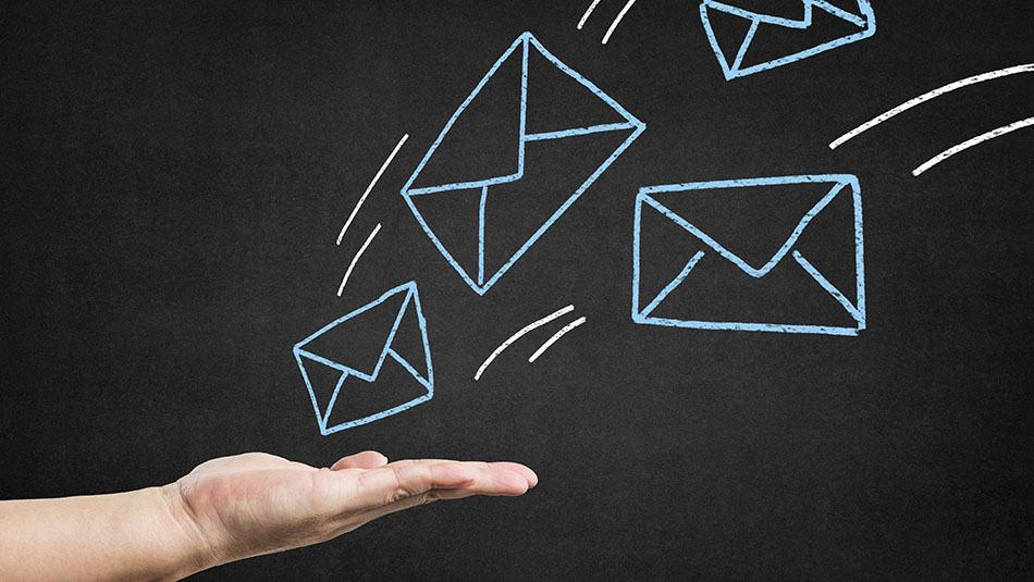 Principe de l'adresse mail jetable
