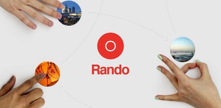 Rando – Le chatroulette de la photo
