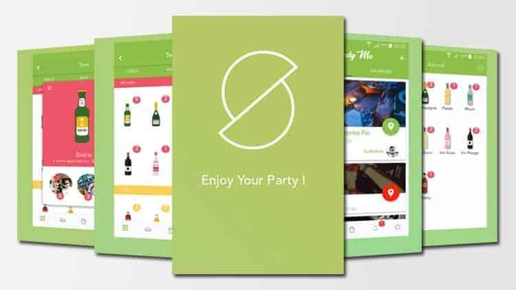 Application Shindy Me - Organiser des soirées entre amis