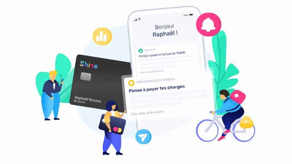 Shine - La banque en ligne pour micro-entrepreneur