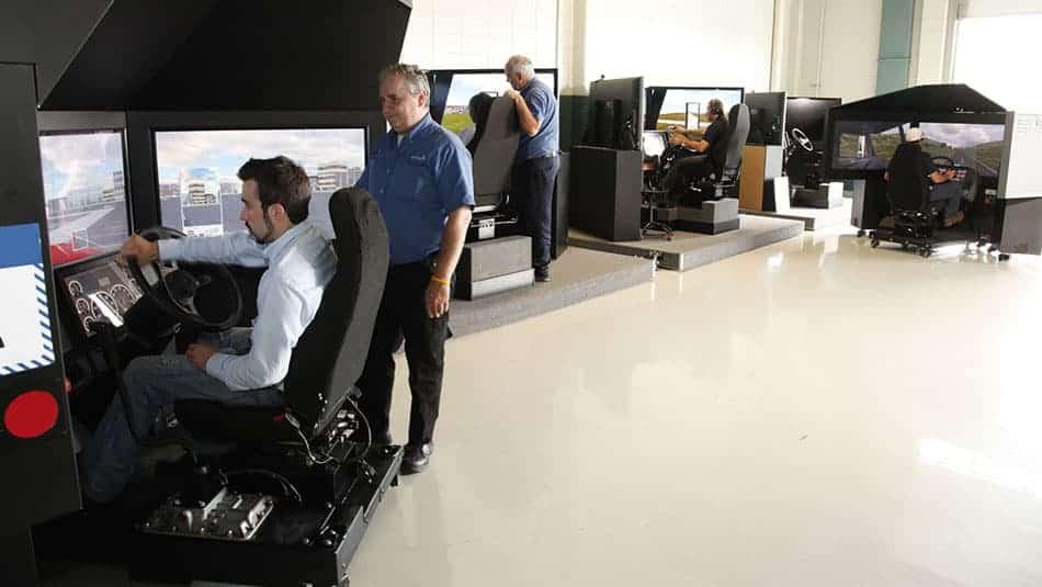 Pourquoi utiliser un simulateur de conduite camion