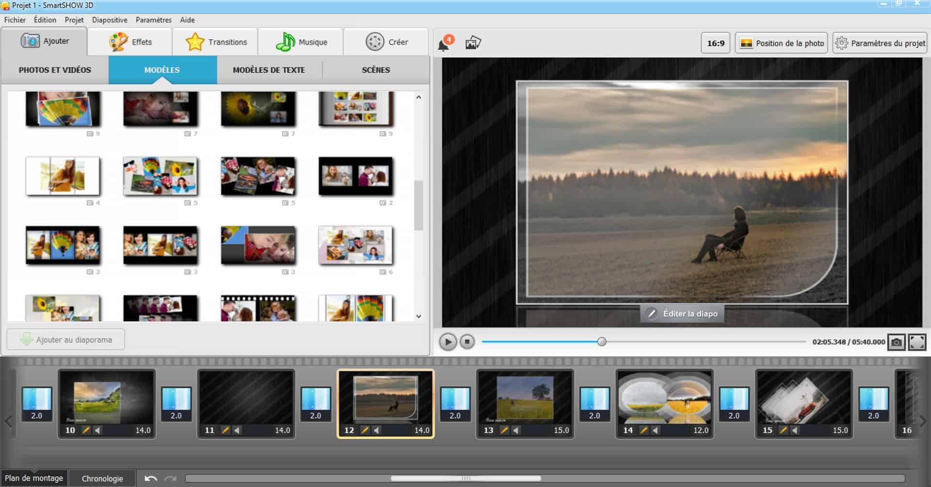 SmartSHOW 3D : L'ajout d'animation