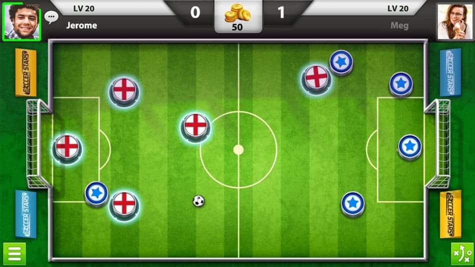 Soccer Stars - Jeu de football multijoueurs Android et iOS