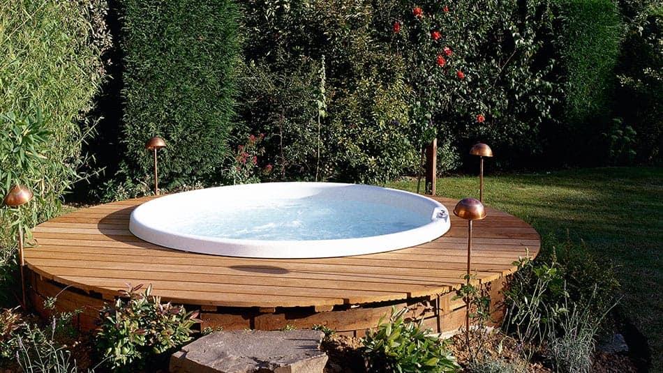 Spa d'extérieur - Les avantages
