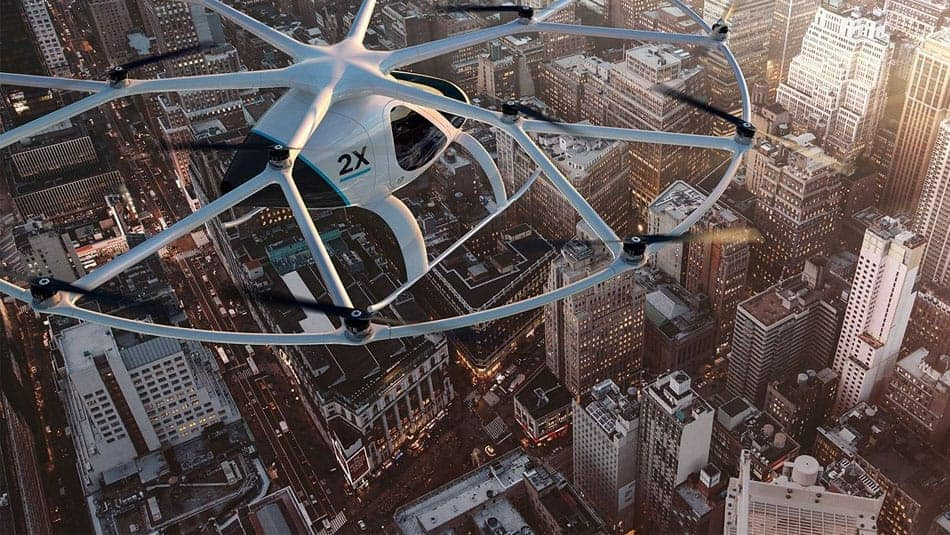 Taxi volant Volocopter