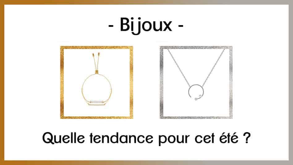 tendance 2018 bijoux