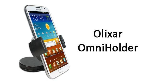 Test support voiture Universel Olixar OmniHolder