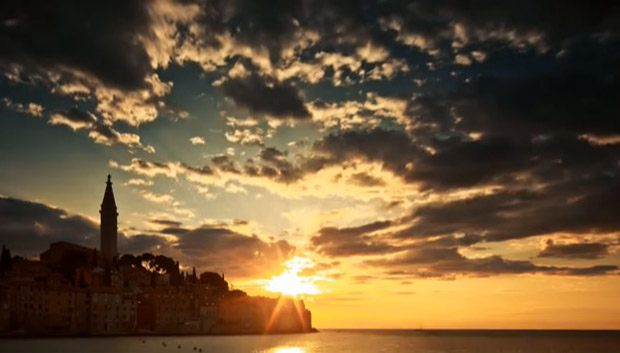 Découvrez la Croatie en time lapse