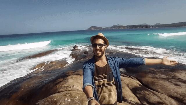 1 an de voyage en Australie en 1 minute