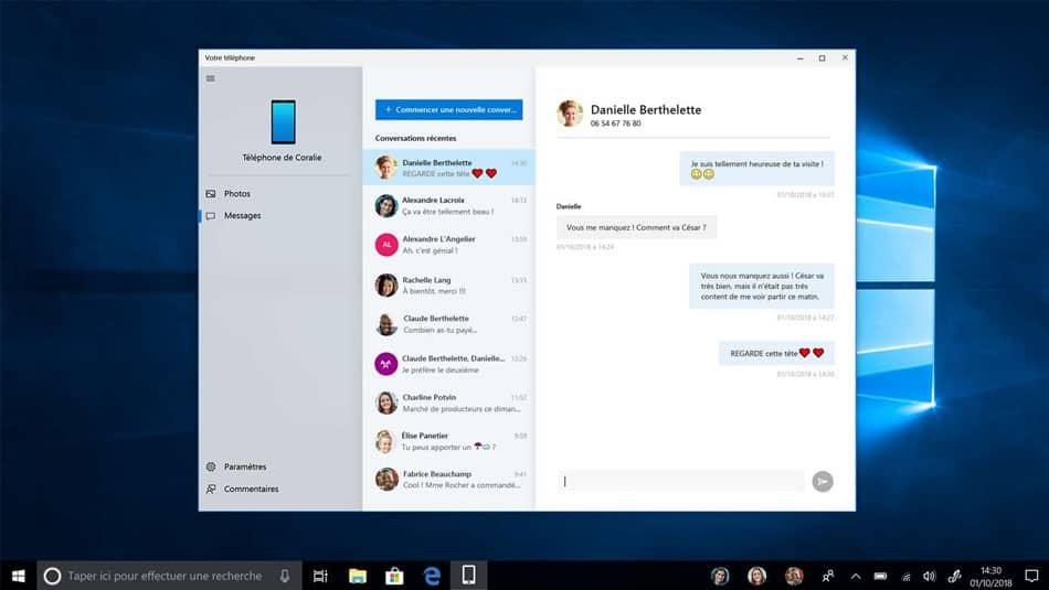 Votre téléphone Microsoft - Android sur un PC