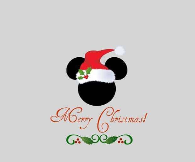 fonds d'écran de Noël - Mickey