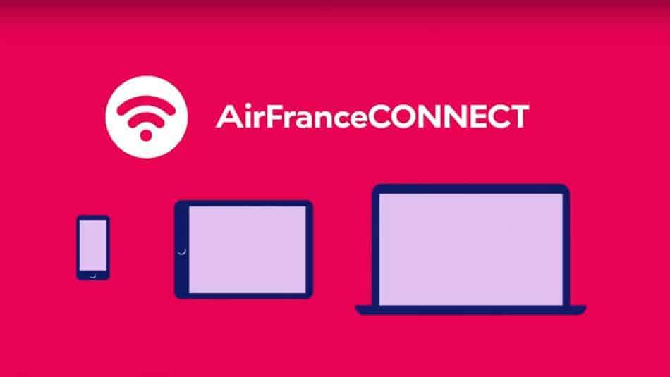 Nouveau WiFi Air France - AirFranceConnect